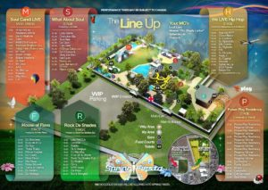 Spring Fiesta full line-up. Image credit: Supplied.